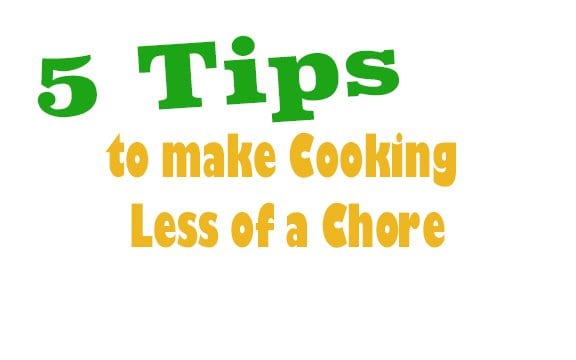 5 Ways to Make Cooking Clean-up Easier