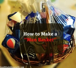 How to Make a Man Basket