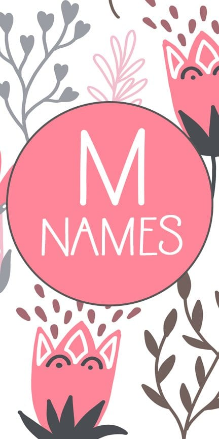M Girl Baby Names | Beautiful Girl |