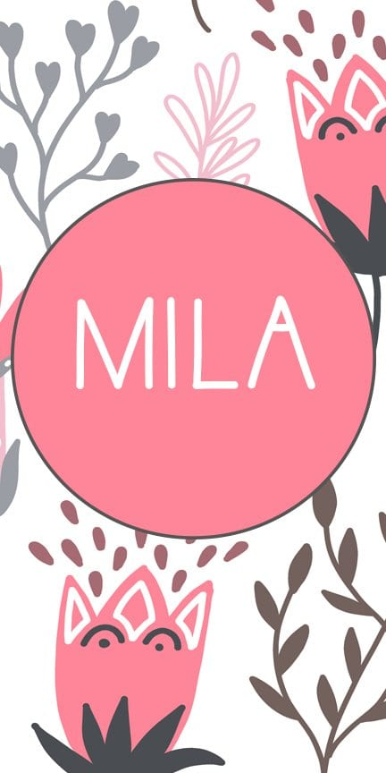 Mila | M Girl Baby Names | Beautiful Girl Names #mnames