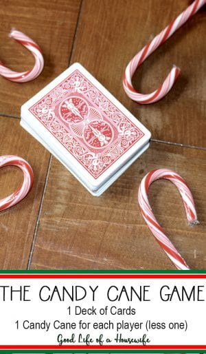 The Candy Cane Game a Fun Christmas Game for the whole family.