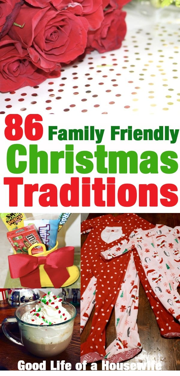 Family Friendly Christmas Traditions