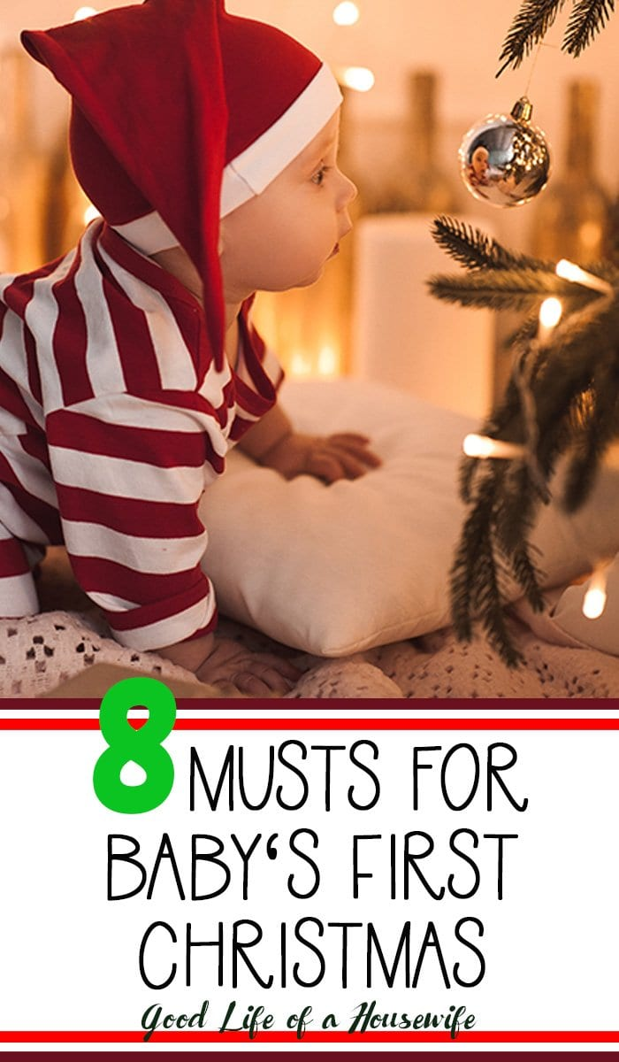 Baby's First Christmas. 8 Things to make baby's first Christmas Special.