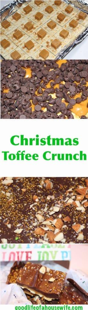 Super Easy Addictive Christmas Toffee Crunch www.goodlifeofahousewife.com