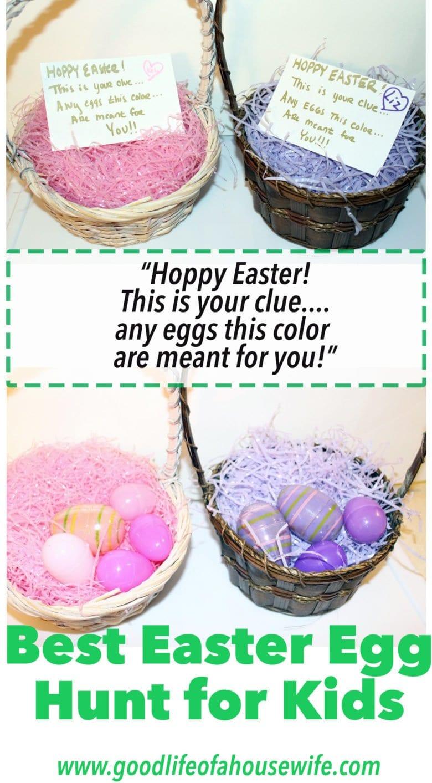 Best Easter Egg Hunt Idea