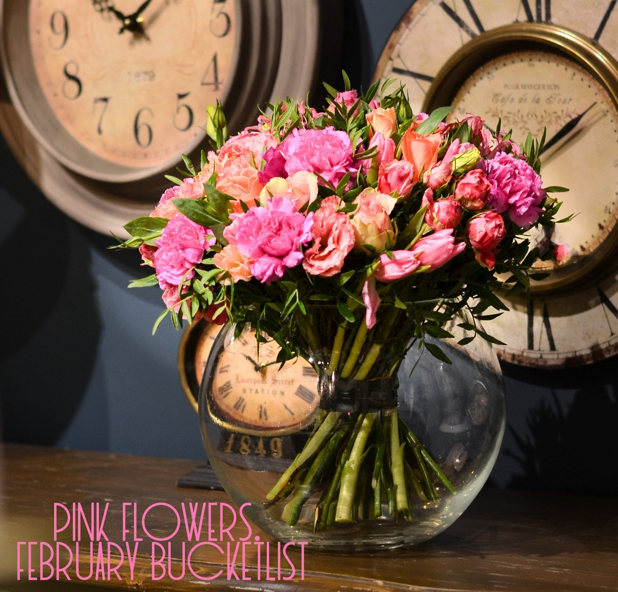 Pink Flowers for a February Bucketlist | Good Life of a Housewife