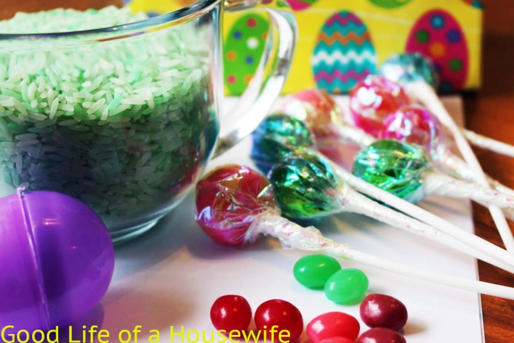 GROWING EASTER LOLLY POPS