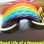 St. Patrick's Day Fun. Grow a rainbow. Good Life of a Housewife | www.goodlifeofahousewife.com