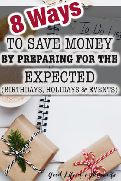 Christmas can sneak up on us. Plan ahead and save some extra cash by using these 8 tips. |Early Christmas Planning| Preparing for Christmas| Money Saving Tips