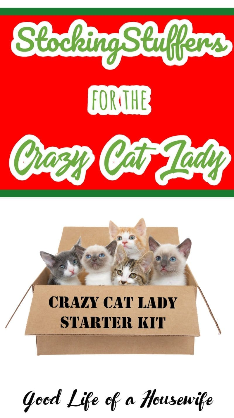 What do you get the crazy cat lady for Christmas? Here are some great ideas | Crazy Cat Lady | Christmas stocking stuffers for women
