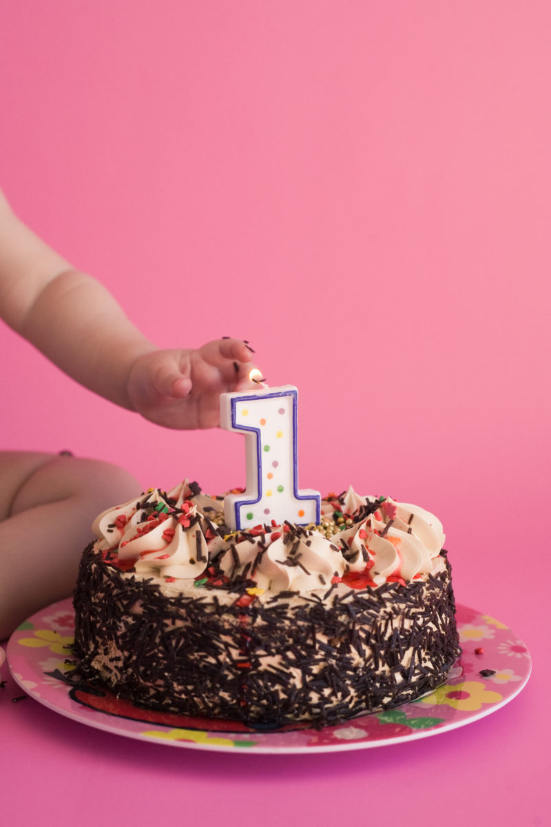 Baby's First Smash Cake