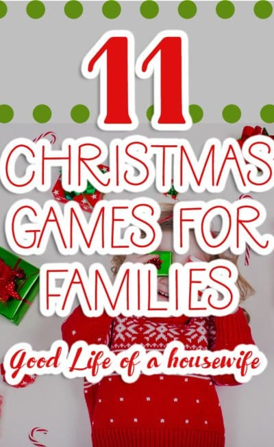 11 Christmas Games for Kids