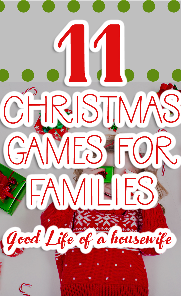 Looking for games and things to do on family night? Here are some family friendly games to play. #ChristmasGames #FamilyGameNight #Family Traditions