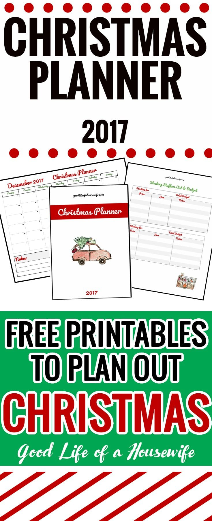 Christmas is coming! Get organized with these gorgeous printables! | Christmas Planning | Christmas Organization | Christmas Printables
