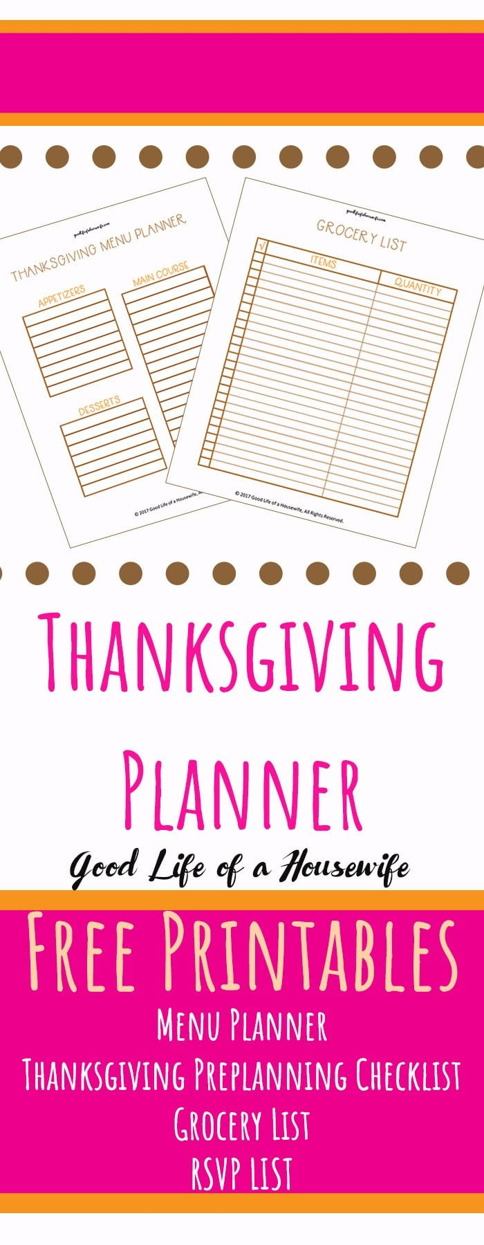 Hosting Thanksgiving this year? Make sure to snag these free Thanksgiving Printables .