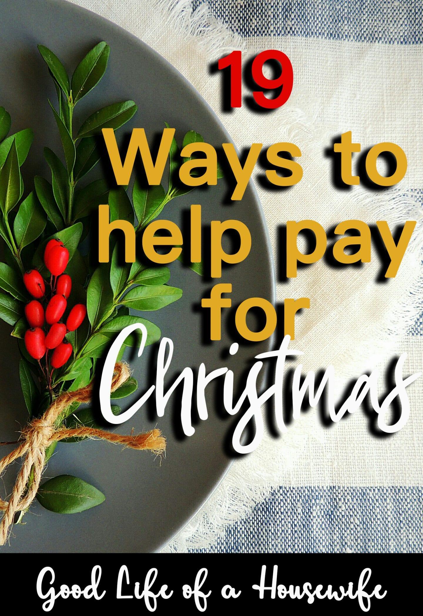 19 Easy Christmas Budget Tips