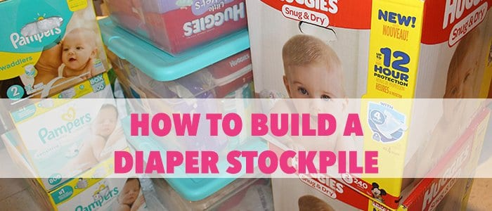 How to build a diaper stockpile