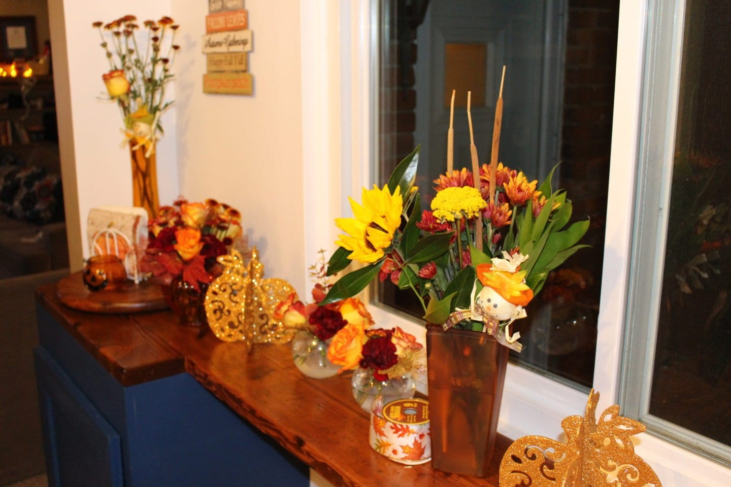 Thanksgiving Center pieces