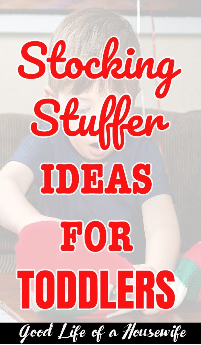 Stocking Stuffer Ideas for Toddlers #stockingstuffers #toddler