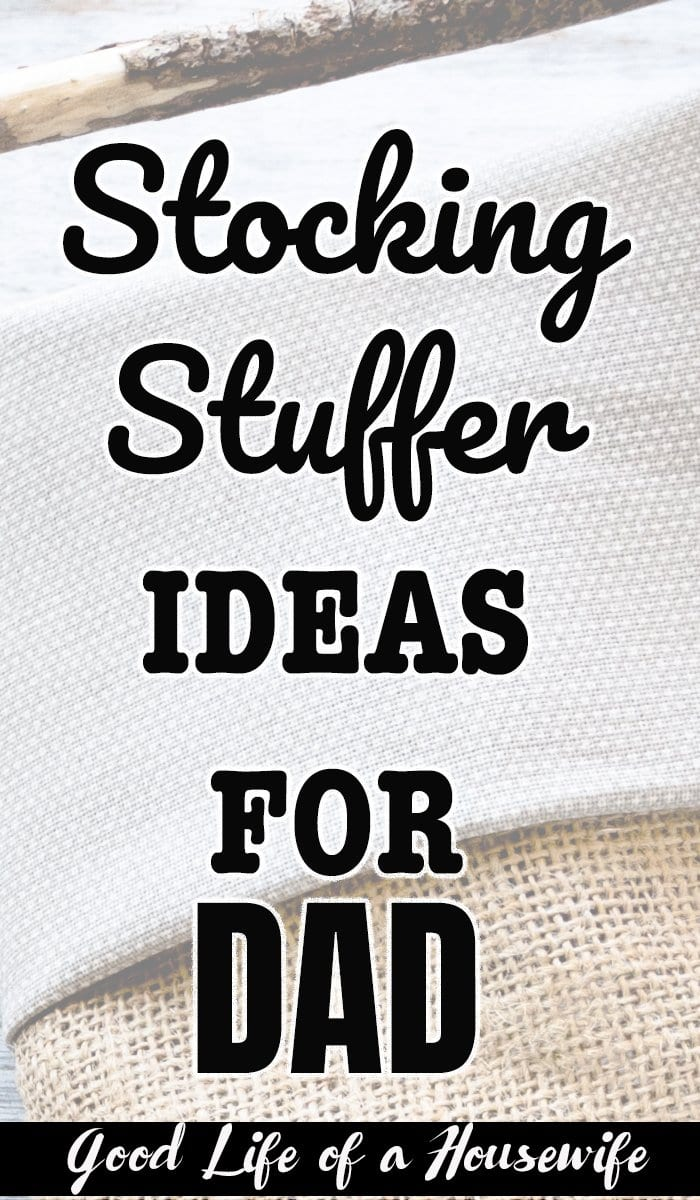 What stocking stuffers should I get dad?
