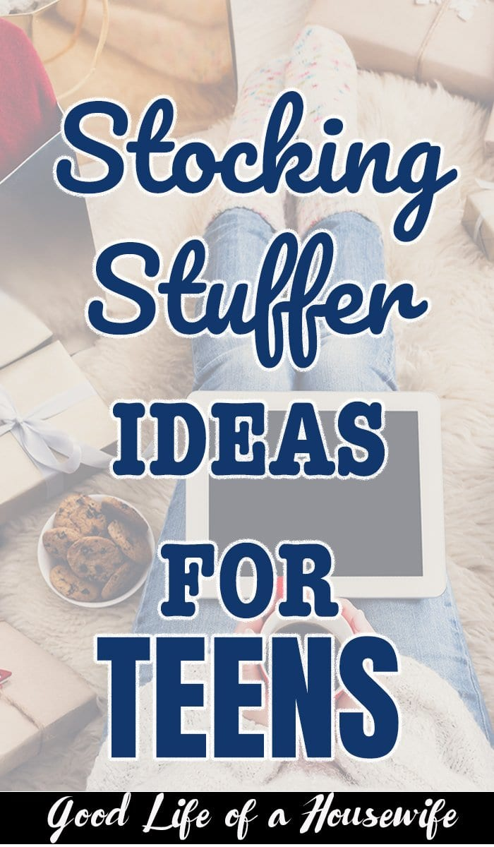 What Stocking Stuffers should I get for a teen?