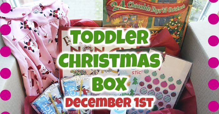 Christmas Box for Toddlers [25 Days of Christmas]