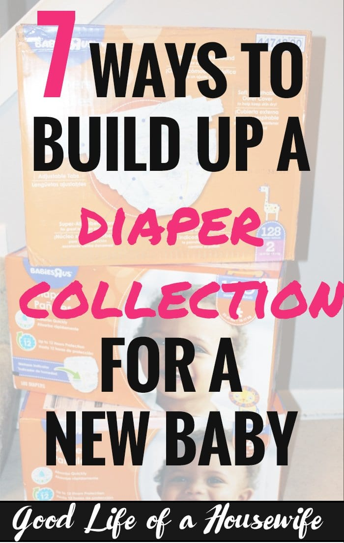 Building a diaper collection for a new baby comes with many benefits. Here's how to get started