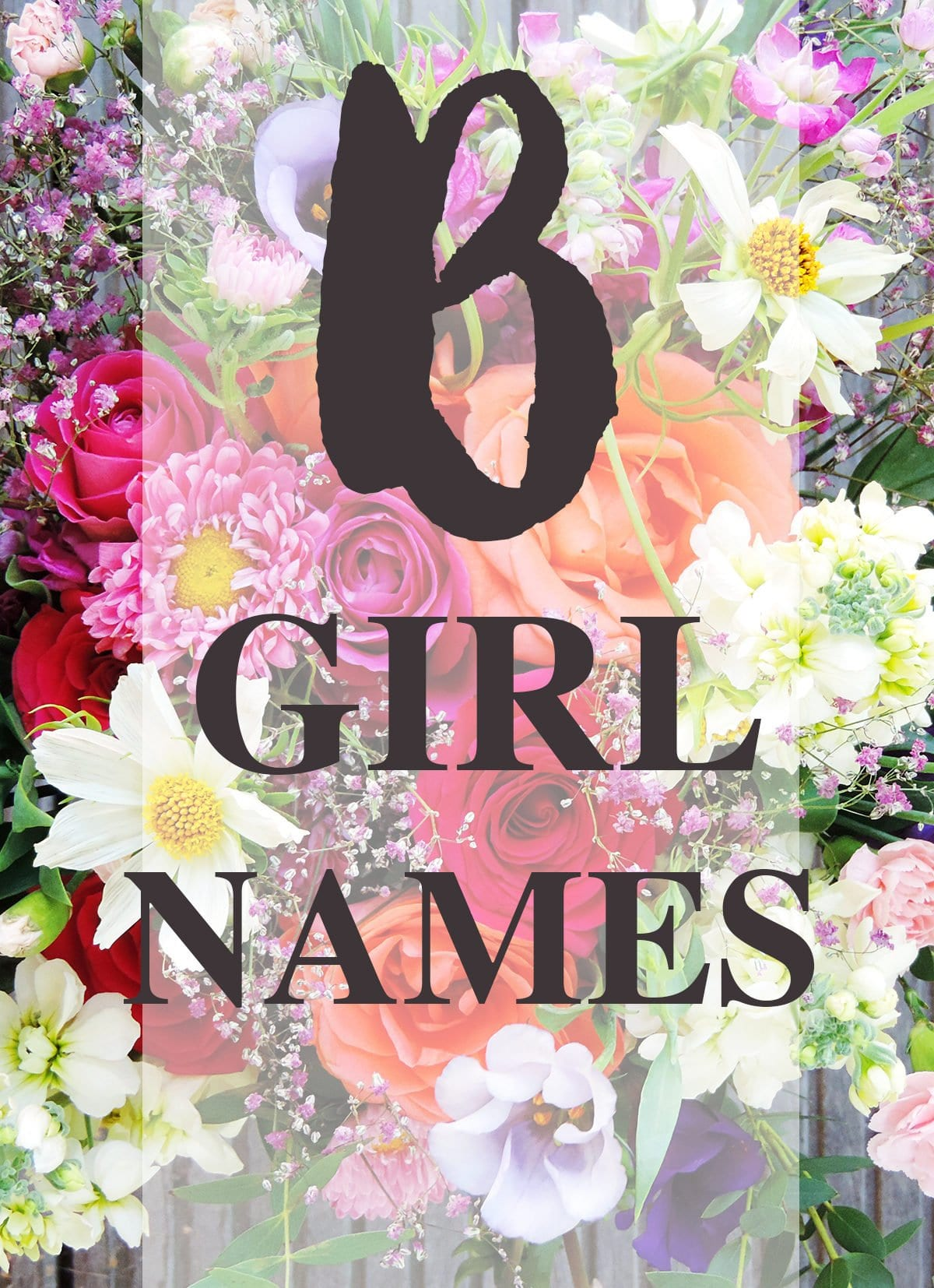 "Girl Names that Start with ""B"""