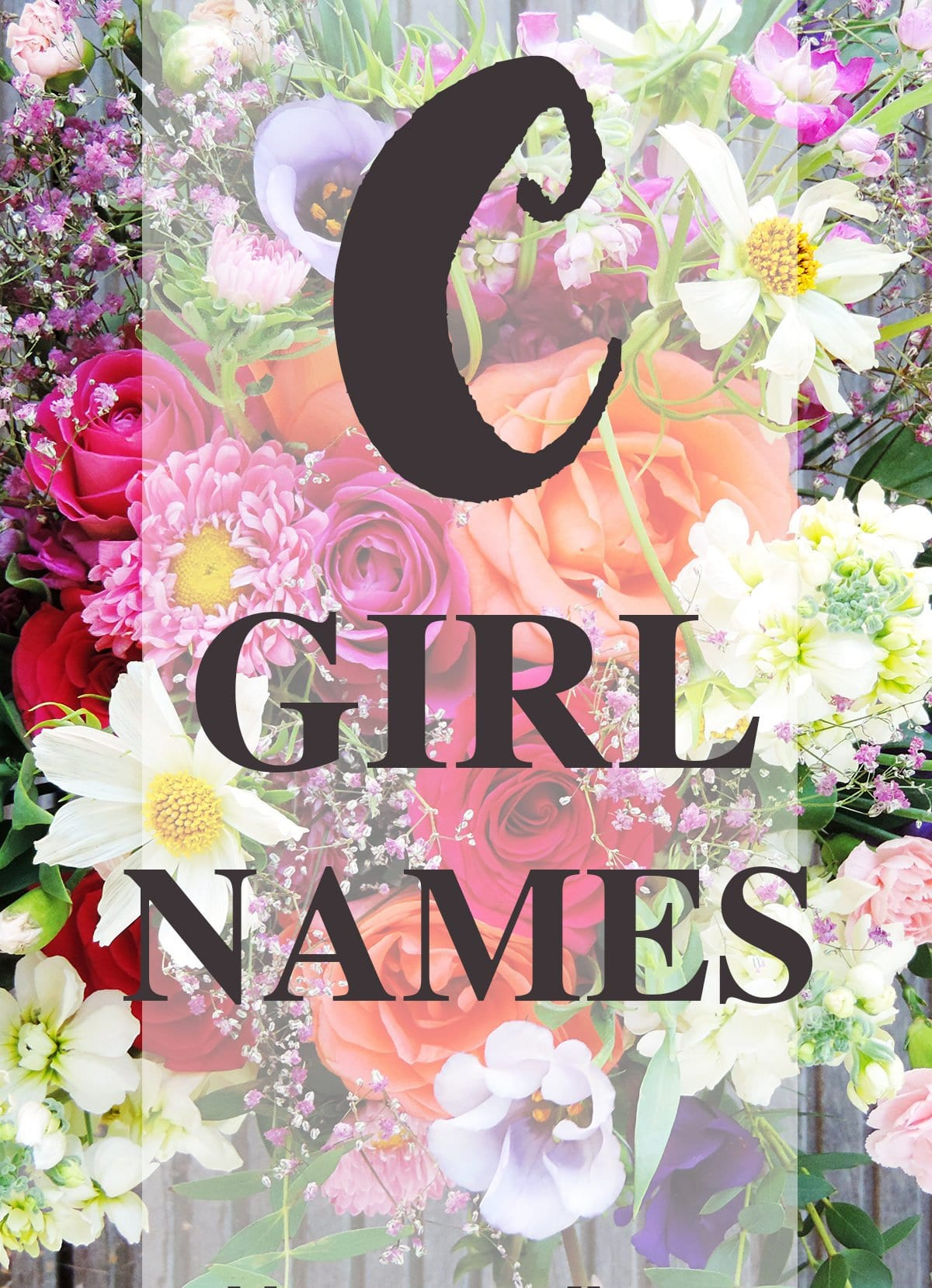"Girl Names that Start with ""C"""