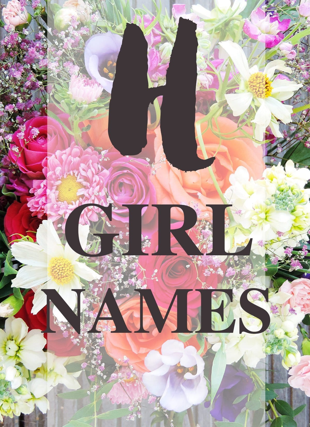 "Girl Names that Start with ""H"""