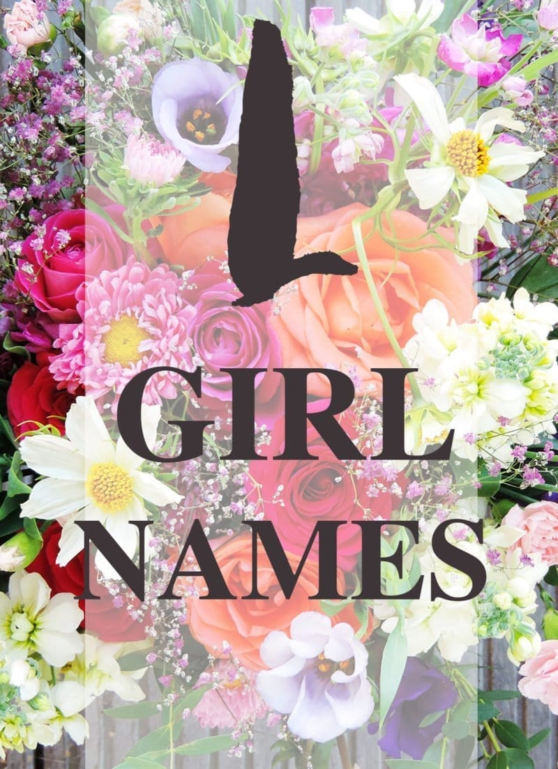 L Girl Names #babynames #girlnames