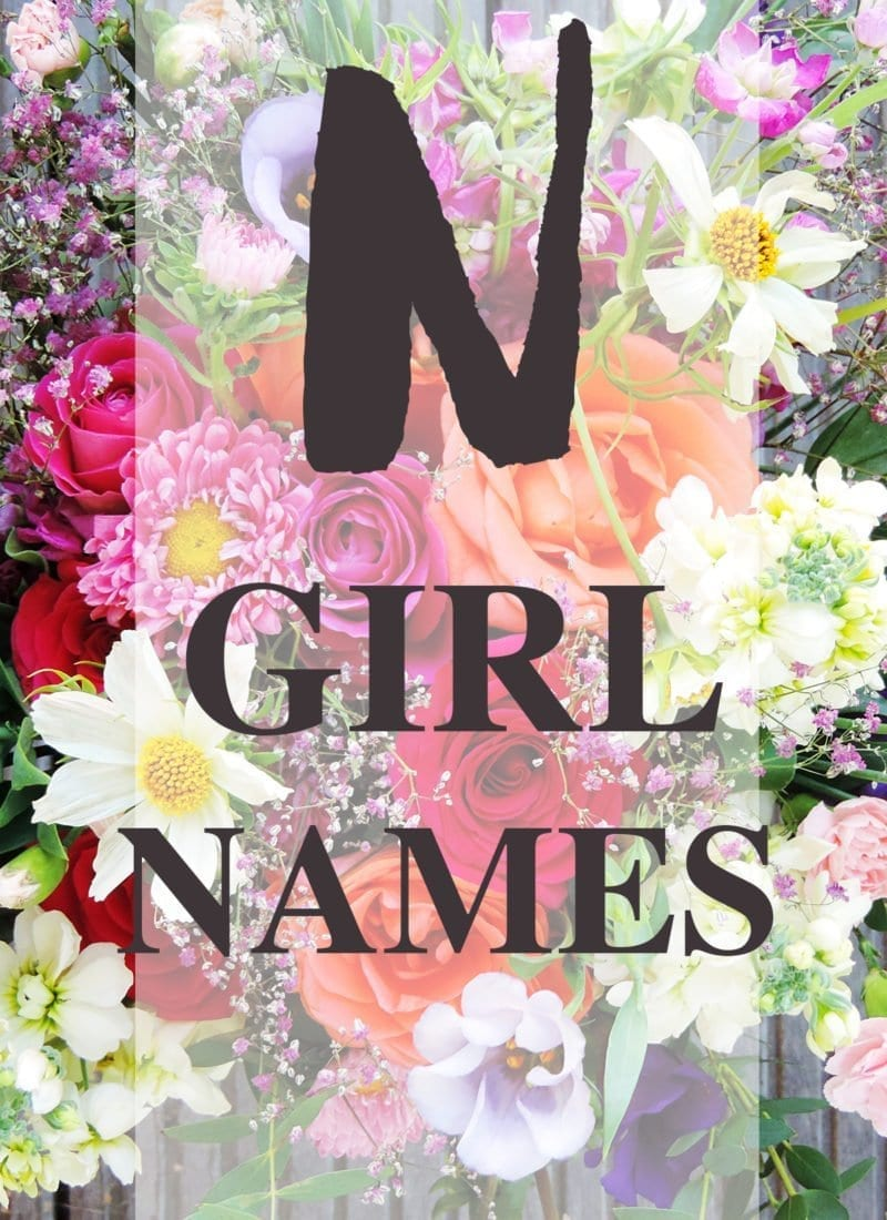Baby Girl Names that start with N