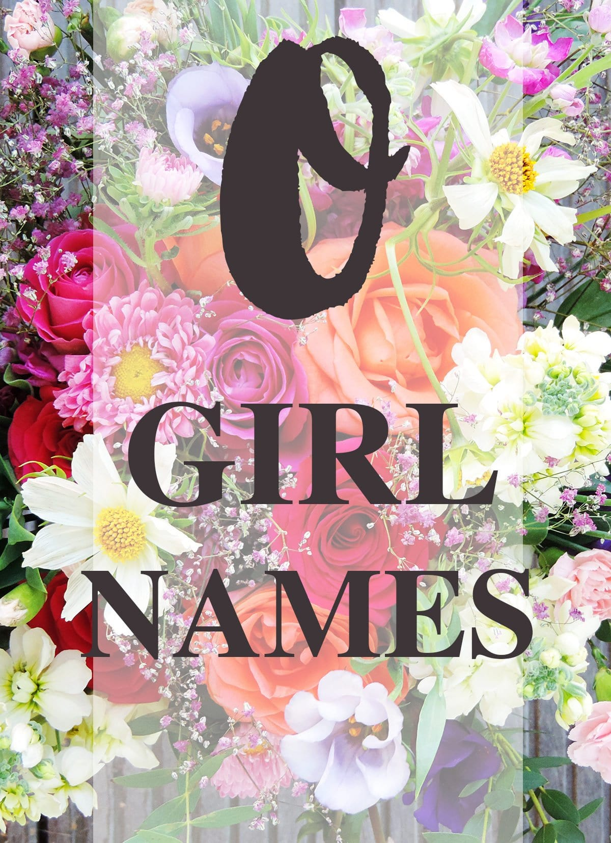 """Girl Names that Begin with """"O"""""""