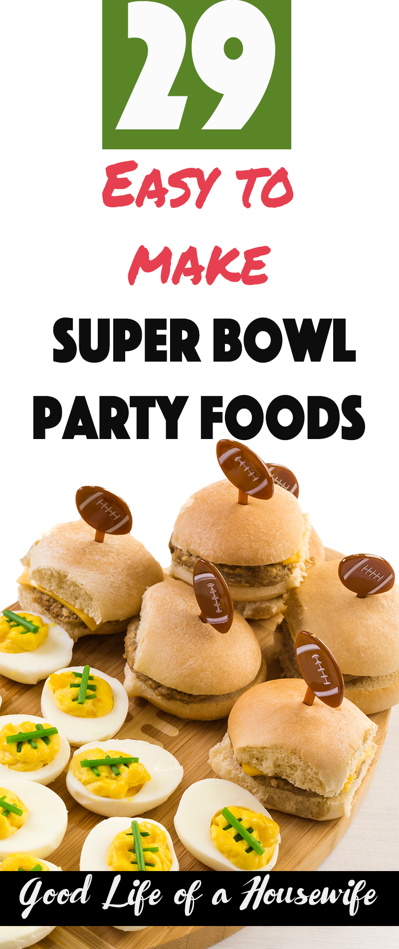 Super Bowl Parties are all about finger foods, dips and having fun. Here are 29 recipes for hosting a Super Bowl party or brining a dish.