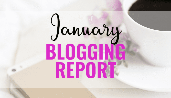 January Blogging Report