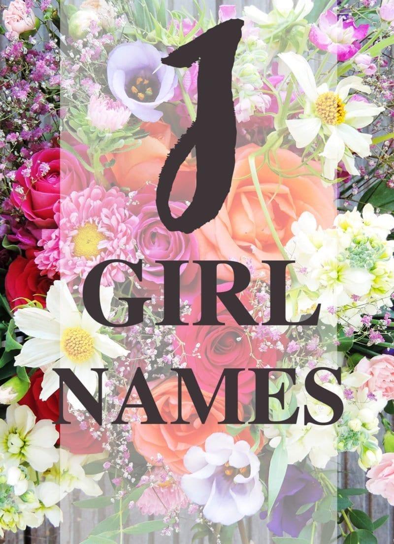 J Names for Little Girls