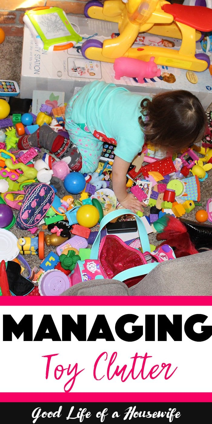 One Easy Way to Manage Toy Clutter