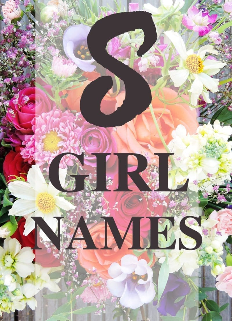"Baby Girl Names that Start with ""S"""