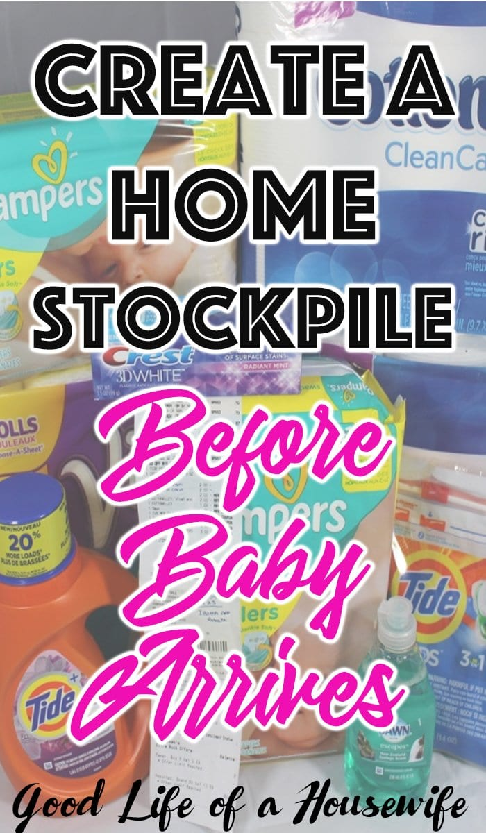 22 Household Items To Stockpile Before Baby Arrives