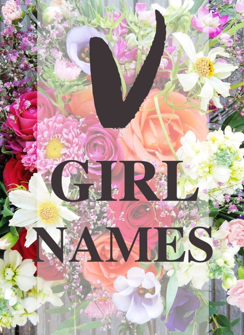 "Baby Girl Names that Start with ""V"""