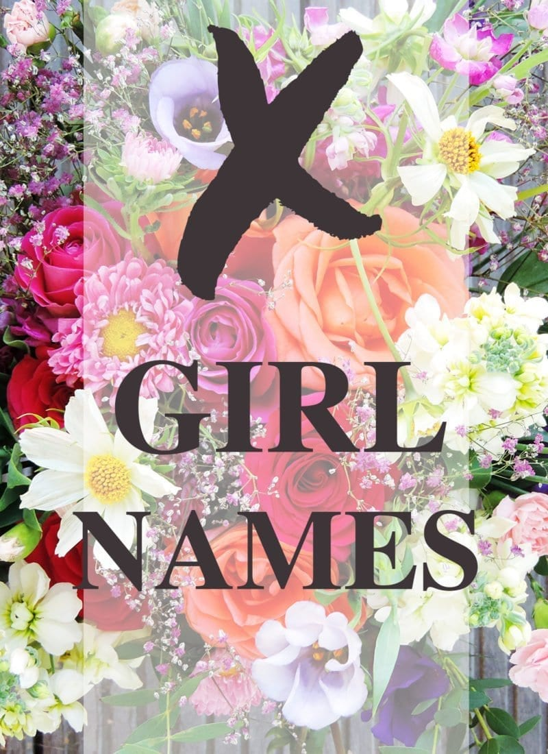 "Baby Girl Names that Start with ""X"""