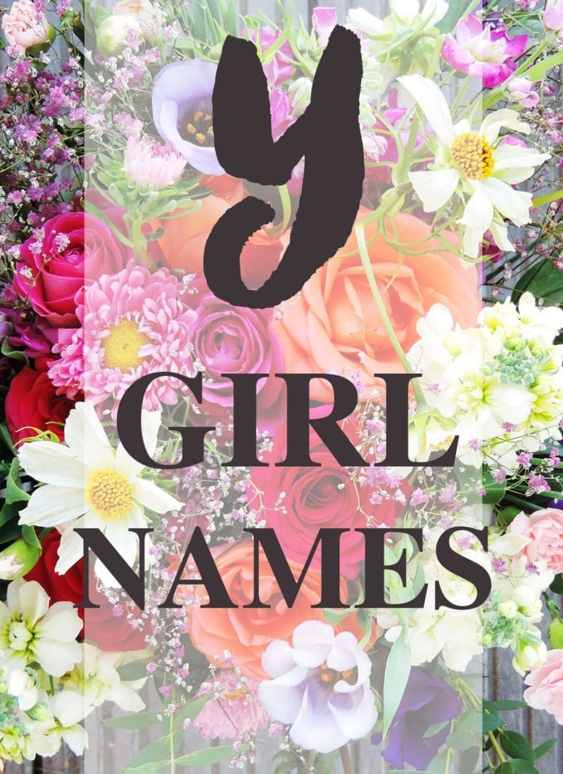 "Baby Girl Names that Start with ""Y"""