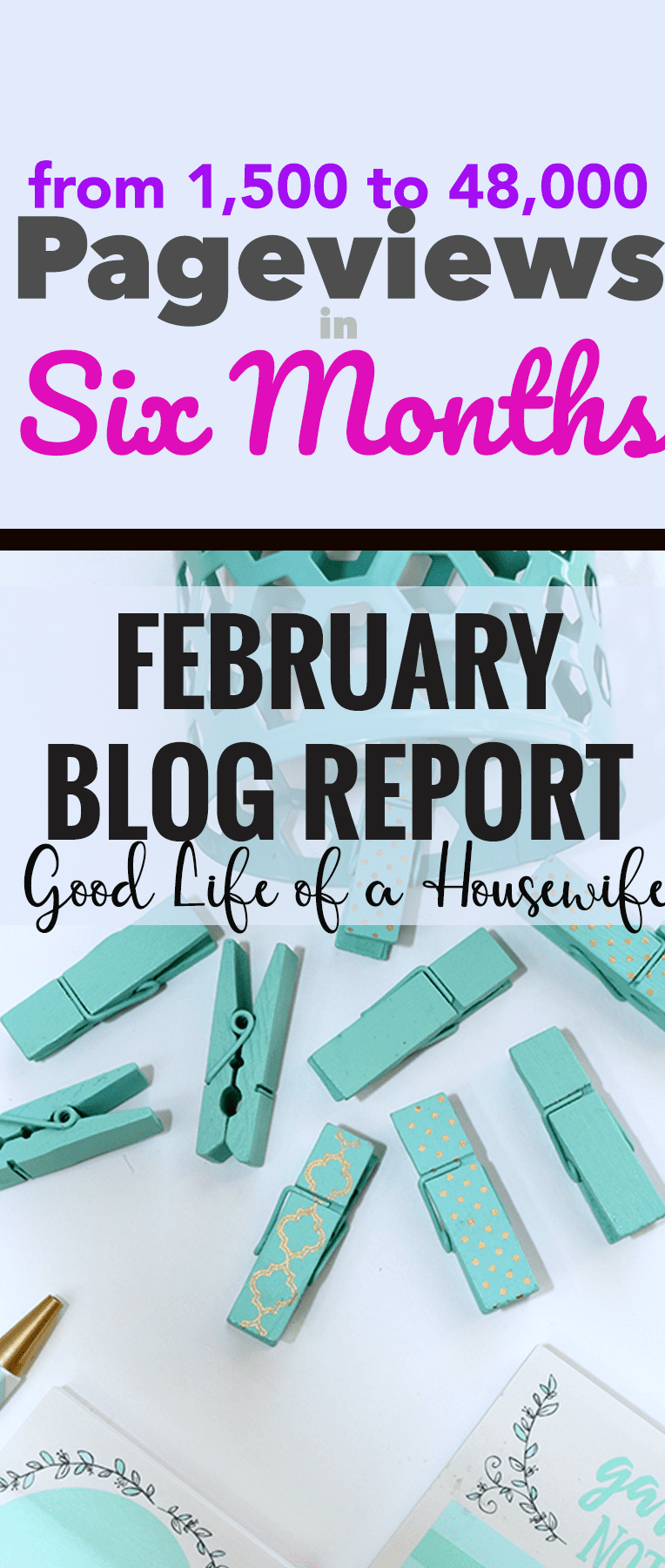 February blogging report. How I increased my traffic from 1500 to 48,000 in six months