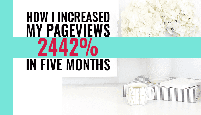 How I increased my page views by 2442% in just five months using Pinterest and tailwind. How I use Tailwind and Manual Pinning to explode my traffic