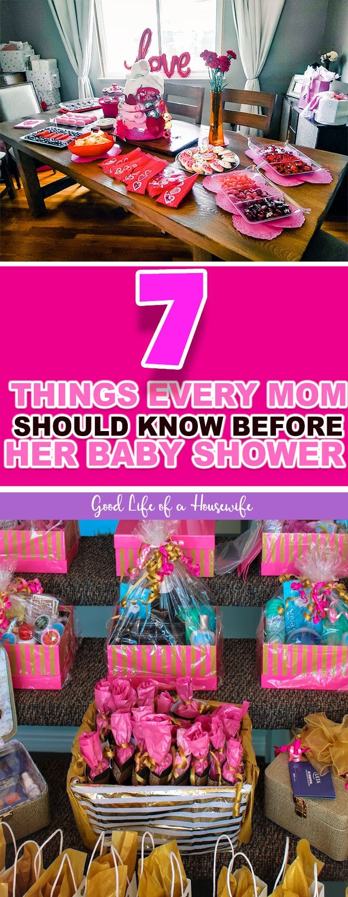 7 things every mom should know before her baby shower