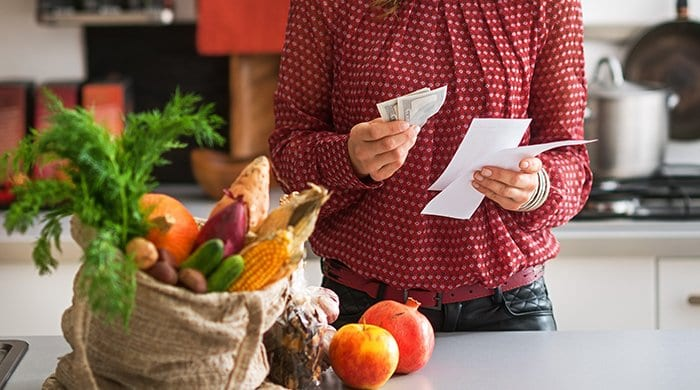 Use meal planning to save money on groceries.