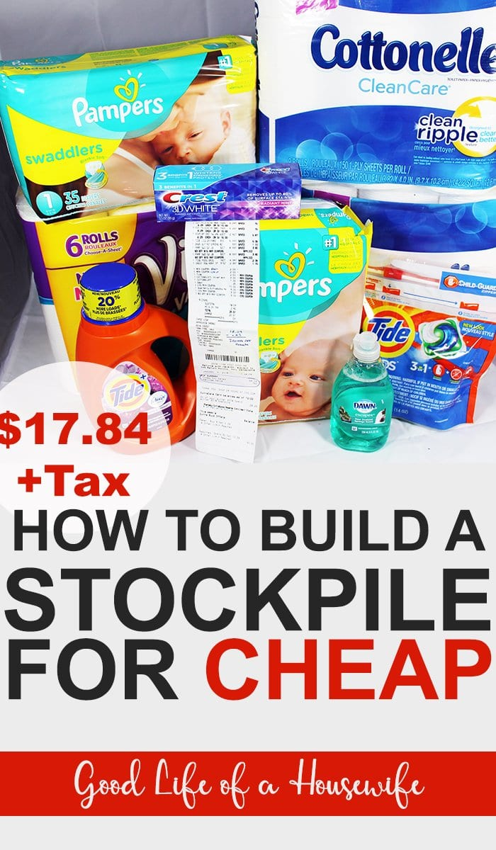 How to Build a Stockpile for Cheap