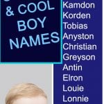 Unique and Cool Boy Names