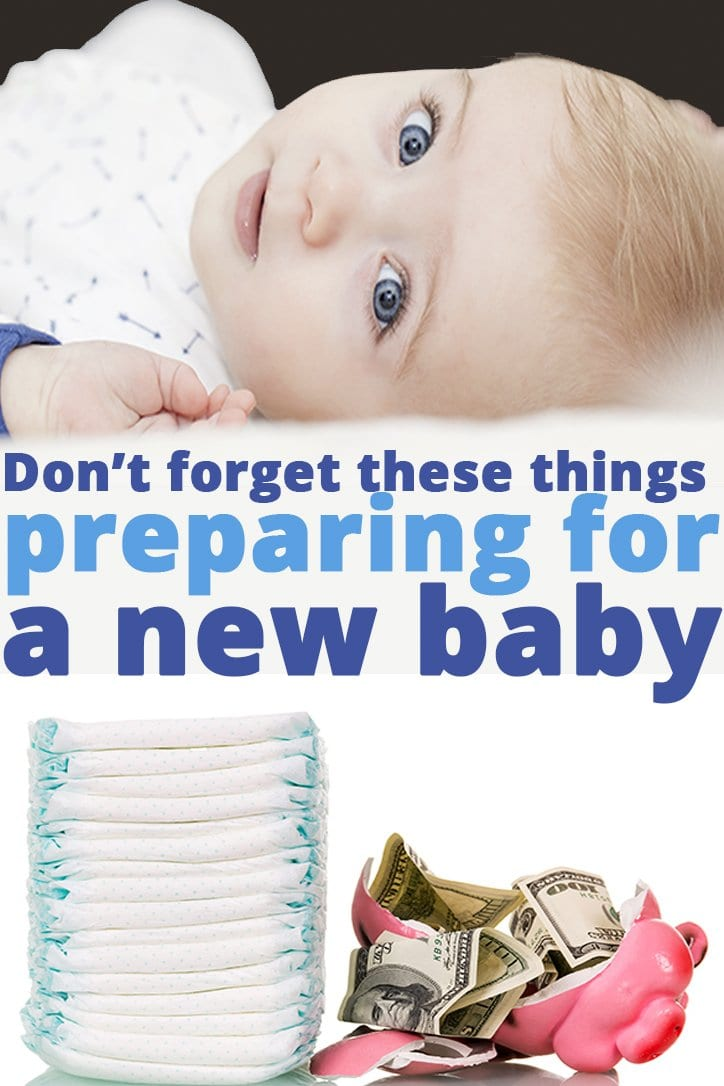 There are so many things to remember when brining a new baby home. Don't forget these things when preparing for a new baby. |newborn| New Baby | Good Life of a Housewife