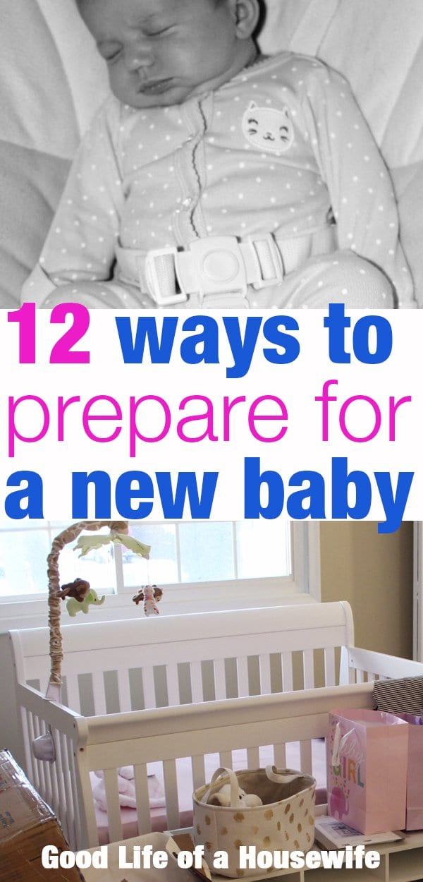 12 Ways to prepare for a new baby